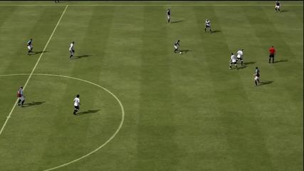 Fifa 12 Невидим играч и Мертезакер полудява - Много смях !!!