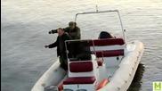 Руснаци на риболов с динамит!