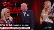 Charlotte Flair confronts Alexa Bliss: Raw 25, Jan. 22, 2018