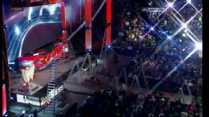 Wwe Raw 07.01.2013 Cm Punk vs Ryback - Tlc match for Wwwe Championship