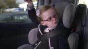 Уникално! – Малко момиченце прави краш тест на Волво! Дали пък не се справи добре а!?