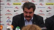 Николай Костов ще води Левски до края на сезона