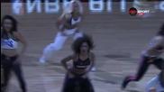 Цветът на мажоретките в НБА се събра в Торонто