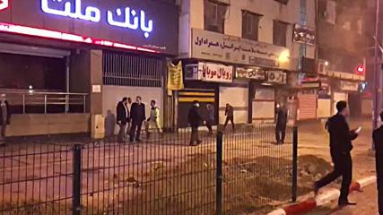 Iran: Truck disinfects street in Ahvaz amid coronavirus outbreak