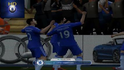Free Kick Battle Fabergas Vs Van Persie F I F A 14
