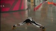 7-годишен постави нов световен рекорд на лимбо скейтинг!