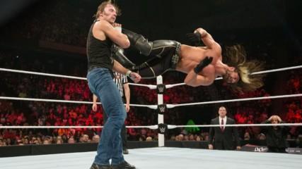 Seth Rollins vs. Dean Ambrose - WWE World Heavyweight Title Match: WWE Elimination Chamber 2015 (Full Match - WWE Networ