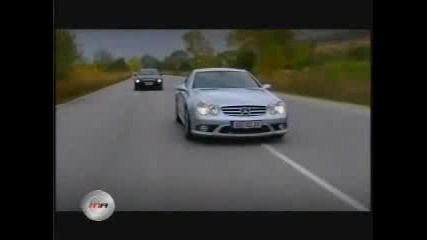 Mercedes SL 55 AMG - Vs - BMW M6