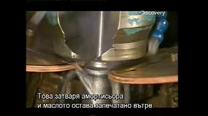 Как се произвеждат амортисьори Monroe