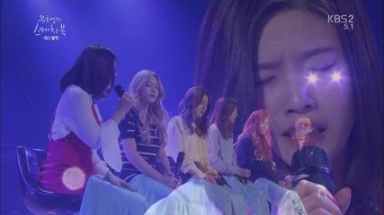 Red Velvet ( Joy) - I hope it would be that way now @ 160401 Kbs You Hee-yeol's Sketchbook