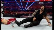 Щитът срещу Ренди Ортън и Даниел Браян Tag Team Championship Wwe Payback