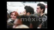 Dulce Maria no tapete vermelho do filme Solo Quiero Caminar (17.08.09)