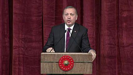 Ердоган няма да води съдебни дела с хората, които са го обидили