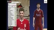 Fifa 09 Vs Pes 09 - Лицата На Играчите