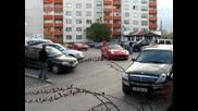 Двете Ферарита Паркират Пред Марсилия!