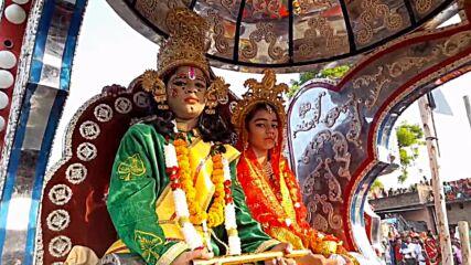 Hindus celebrate Dussehra festival to mark triumph of good over evil