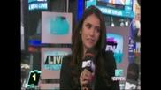 Нина Добрев говори на български отново! (28.04.2011)