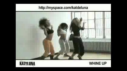 Kat Deluna - Whine Up - Репетиции