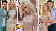 И Лидия брои до 12: Вижте снимки от бала на поп-фолк певицата! Очарователна е!