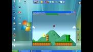 версия на Супер Марио - невъзможен скок