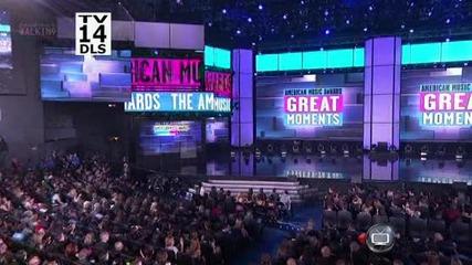 Justin Bieber печели награда за Artist of the year | American Music Awards 2012