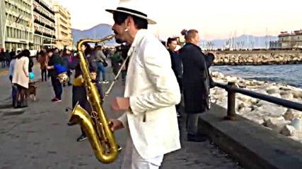 Dance Monkey - Street Sax Performance