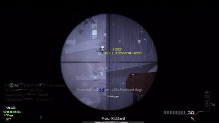 Outpost Barrett Multi Kill+feed