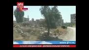 Край Дамаск жени - доброволки отблъскват терористите