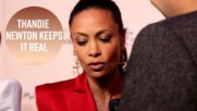 No red carpet bulls*** for Thandie Newton