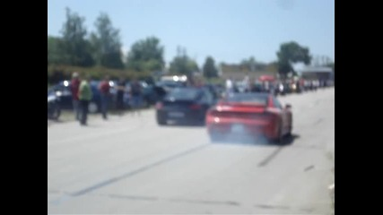 Porshe Carrera vs Dodge Stealth Dobrich