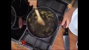 Лео и Кристо готвят агне по ловджийски