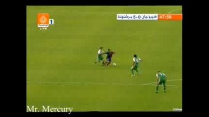 24.07.08 Хибърниан - Барселона 0:6 0:5 Боян