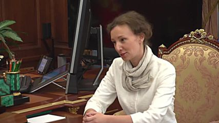 Russia: Putin meets newly appointed children's rights commissioner