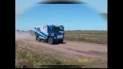 Rally Dakar 2009 Stage Trucks