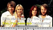 Abba - Mamma Mia - Karaoke video with lyrics.