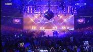 Wwe Wrestle Mania 27 The Undertaker vs Triple h Part 1