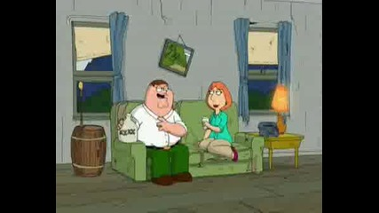Family Guy - peter and the racoon
