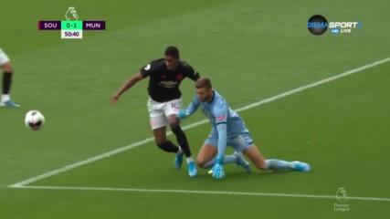 Саутхемптън - Манчестър Юнайтед 1:1 /репортаж/