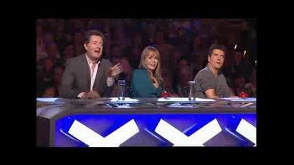 Flava on Britain Got Talent 2008