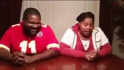 Бийтбокс битка между баща и дъщеря !