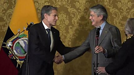 Ecuador: Blinken applauds nation's COVID efforts after meeting with newly-elected President Lasso