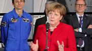 Germany: Merkel praises European space projects at Astronaut Centre