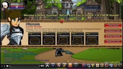 =aqw= Как да си земете Realm Gem Quest 1 От 5!