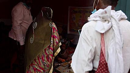 India: Devotees line up to meet 'world's smallest saint' at Kumbh Mela religious festival