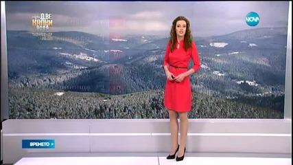 Прогноза за времето (03.03.2015 - сутрешна)