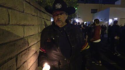 USA: Dozens attend Burbank vigil for cinematographer accidentally shot by Alec Baldwin