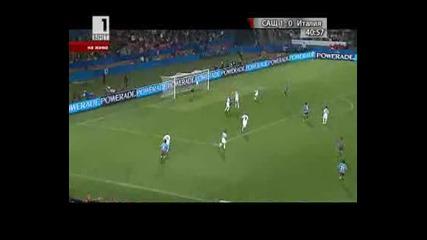 Сащ 1 - 0 Италия Гол на Донован