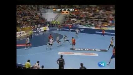Испания надви Германия с 26:24 на световното по хандбал