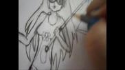 Рисуване на манга герой стъпка по стъпка