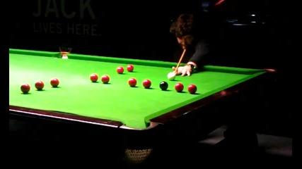 Snooker T-break